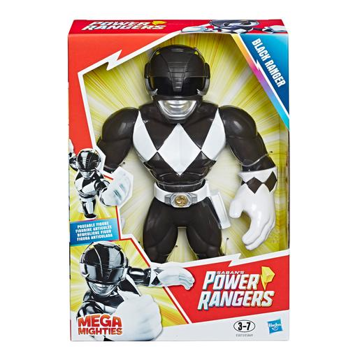 Power Rangers - Black Ranger - Mega Mighties