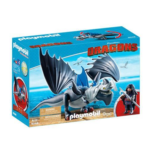Playmobil - Drago y Dragón con Armadura - 9248