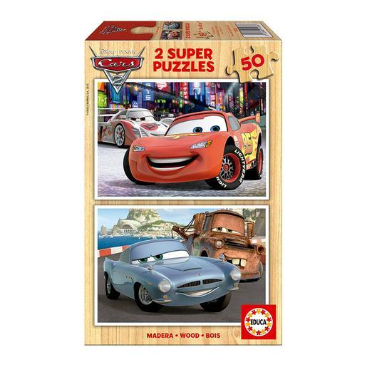 Educa Borrás - Cars 2 - Puzzles 2x50 Piezas