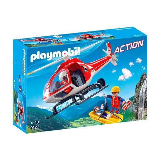 Playmobil - Helicóptero de Rescate de Montaña - 9127