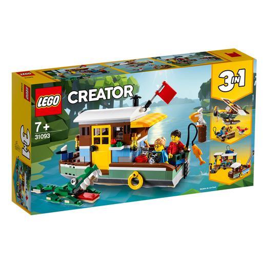 LEGO Creator - Casa Flotante del Río - 31093