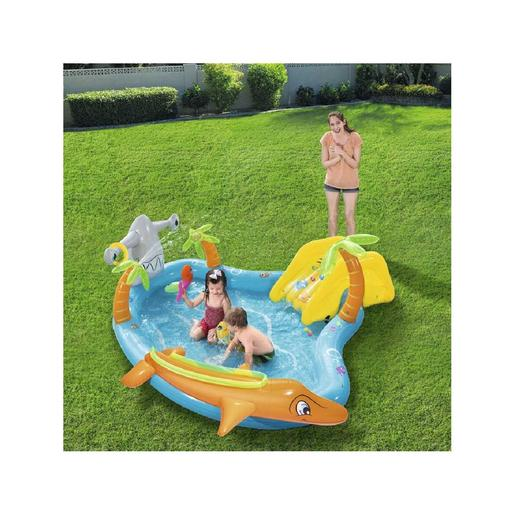 Bestway - Piscina infantil hinchable Sea Life Play Center