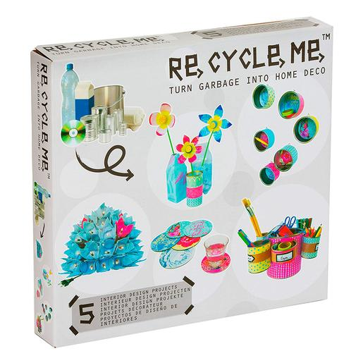 Re-Cycle-Me - Caja de Decoración de Flores