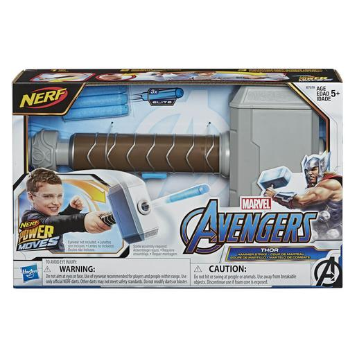 Nerf - Los Vengadores - Lanzador Power Moves Thor