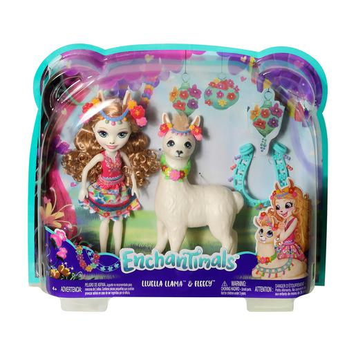 Enchantimals - Lluella Llama y Fleecy