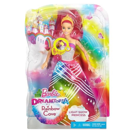 Barbie - Princesa Luces de Arco Iris