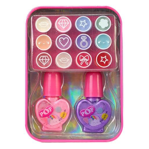 Maquillaje Tin Rainbow POP Girls