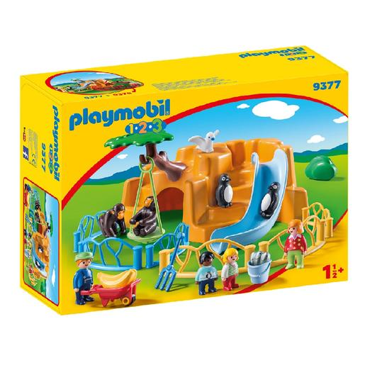 Playmobil 1.2.3 - Zoo - 9377