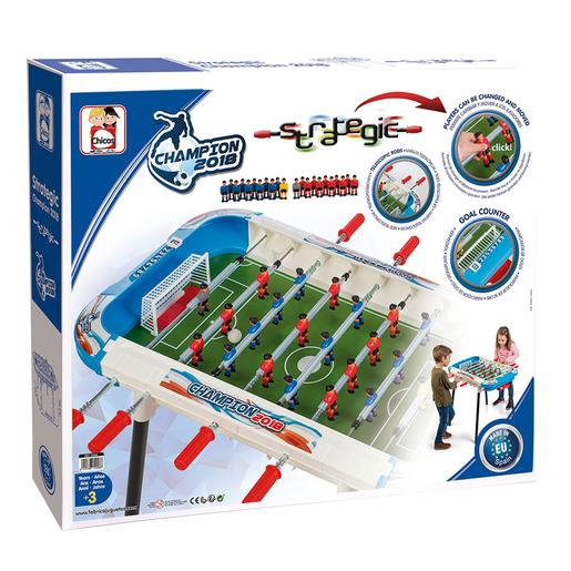 Futbolín Strategic Champion
