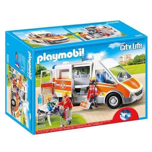 Playmobil - Ambulancia con Luces y Sonido - 6685