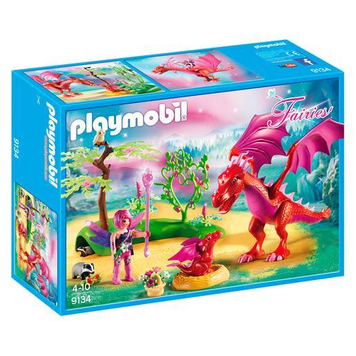 Playmobil - Dragón con Bebé - 9134