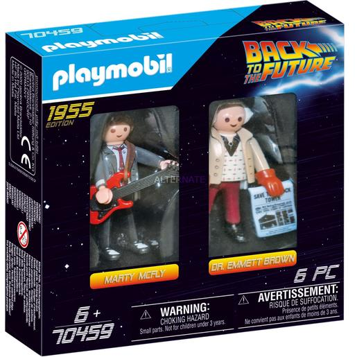Playmobil - Regreso al futuro Marty Mcfly y Dr. Emmett Brown (70459)