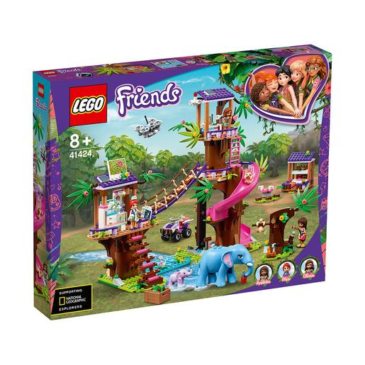 LEGO Friends - Base de rescate en la jungla (41424)
