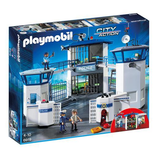 Playmobil - Comisaría de Policía con Prisión - 6919