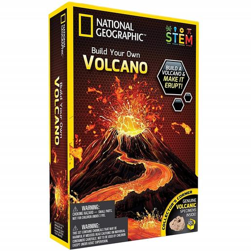 National Geographic - Crea tu Volcán