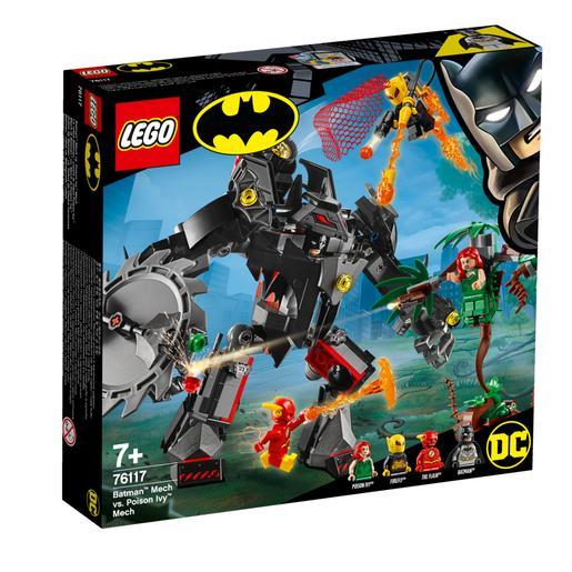LEGO Superhéroes - Robot de Batman vs Robot de Hiedra Venenosa - 76117