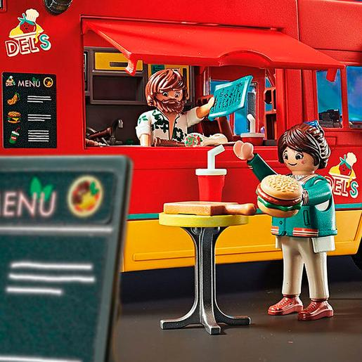 Playmobil - Food Truck Del's Playmobil The Movie - 70075
