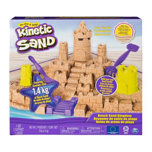 Kinetic Sand - Construye tu Reino de Arena
