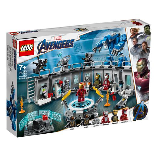 LEGO Superhéroes - Iron Man: Sala de Armaduras - 76125