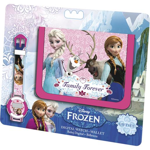 Frozen - Set Reloj Digital y Billetera