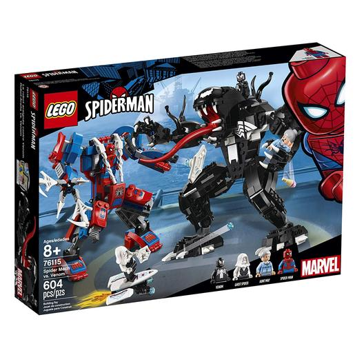 LEGO Superhéroes - Spider-man - Robot-Araña VS. Venom - 76115