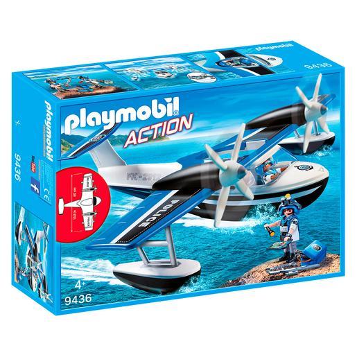 Playmobil - Hidroavión de Policía - 9436