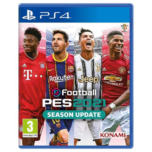 PS4 - E-Football Pro Evolution Soccer 2021 - Season Update