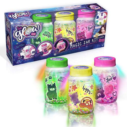 So Glow - Pack 3 Magic Jar (varios colores)