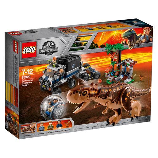 LEGO Jurassic World - Huida del Carnotaurus en la Girosfera - 75929