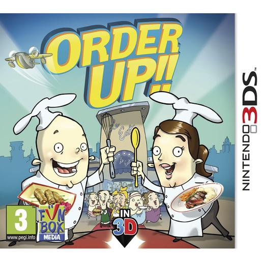 Nintendo 3DS - Order Up!