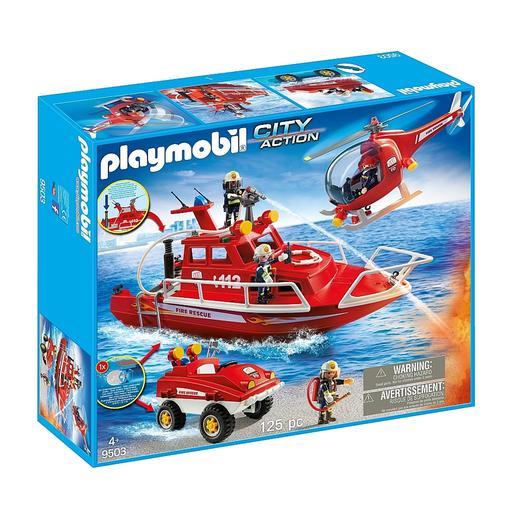 Playmobil - Fuerzas Especiales Bomberos - 9503