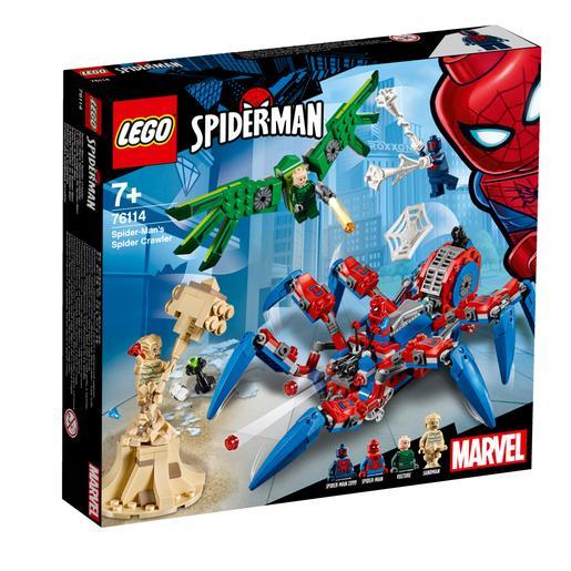 Lego Man Araña Superhéroes Reptadora De Spider 76114 0P8nwONkXZ