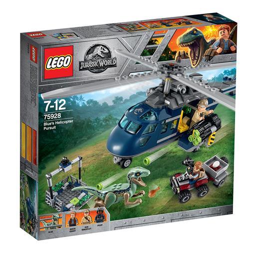 LEGO Jurassic World - Persecución en Helicóptero de Blue - 75928