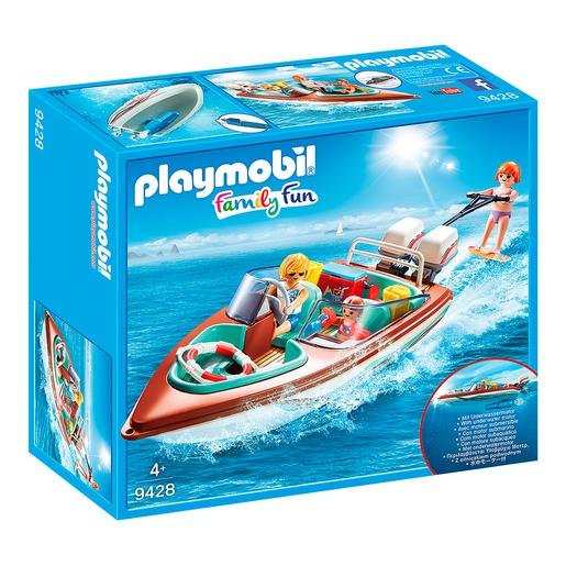 Playmobil - Lancha Motora con Motor Submarino - 9428