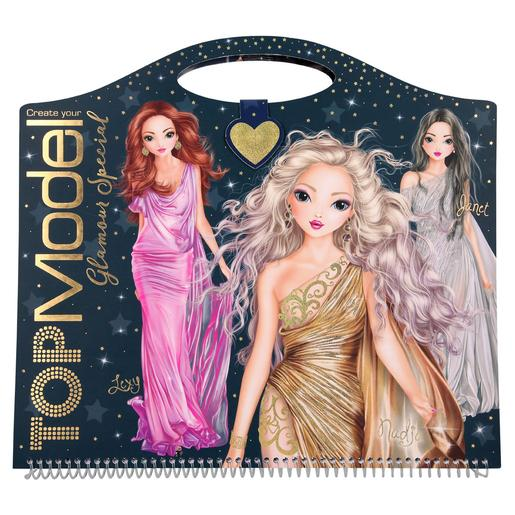 Top Model - Cuaderno Para Colorear Create Your Glam