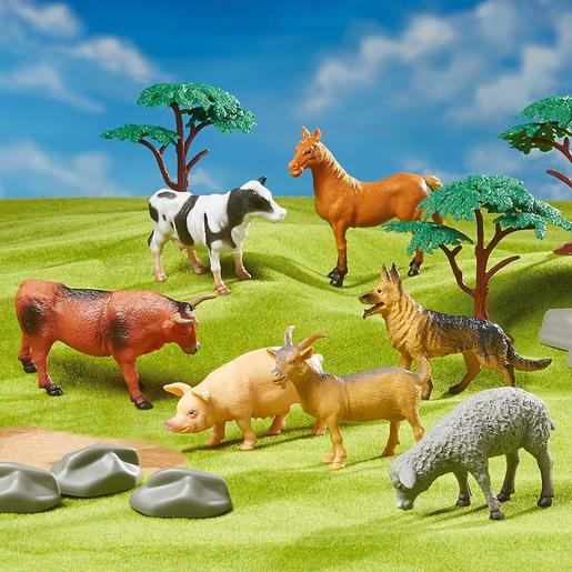 Animal Zone - Playset 4 en 1 Mundo Animal