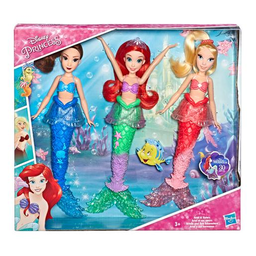Princesas Disney - Pack Ariel y sus Hermanas