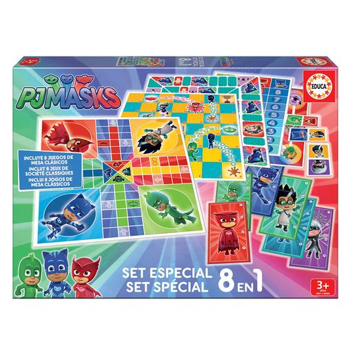 Educa Borrás - PJ Masks - Set Especial 8 en 1