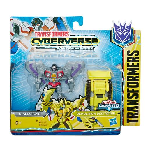 Transformers - Starscream - Figura Spark Armor Transformers Cyberverse