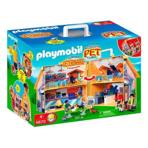 Playmobil - Clínica Veterinaria Maletín - 5870