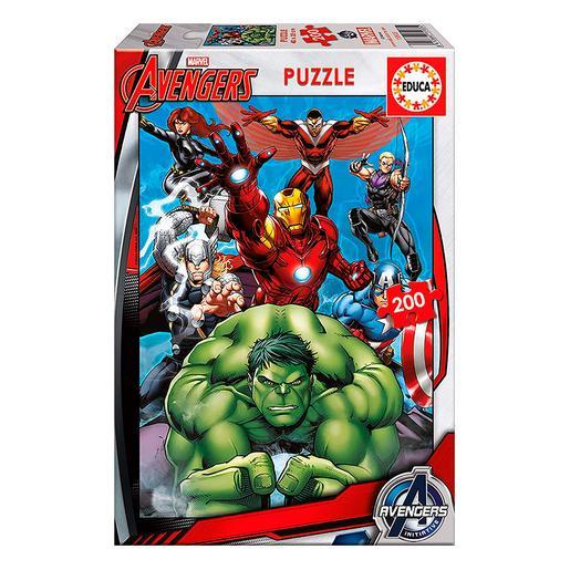 Educa Borras - Avengers - Puzzle 200 Piezas