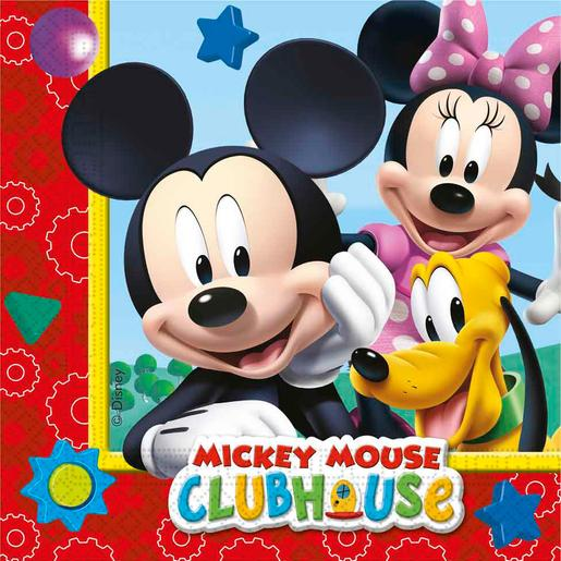 Mickey Mouse - Pack 20 Servilletas