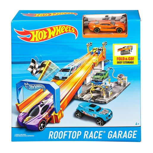 Hot Wheels - Garaje Rooftop Race