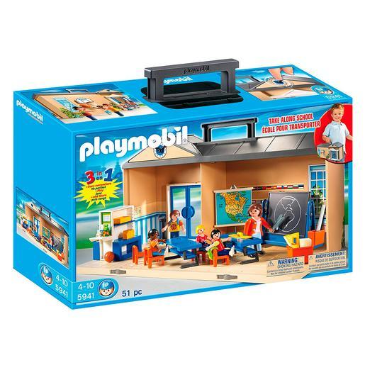 Playmobil - Escuela Maletín - 5941