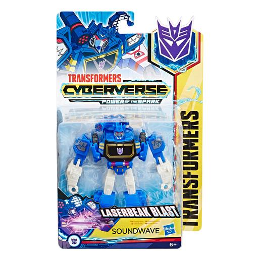 Transformers - Soundwave - Figura Transformers Cyberverse