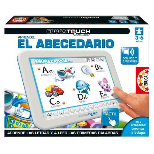 Educa Borrás - Educa Touch Junior Aprendo el Abecedario