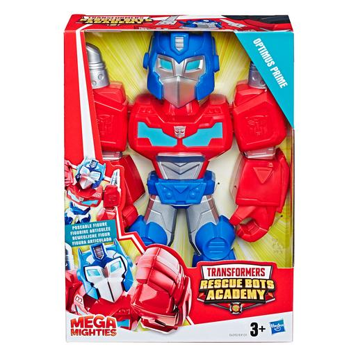 Transformers - Optimus Prime - Figura Rescue Bots Academy Mega Mighties