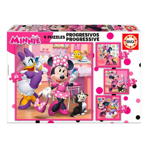 Educa Borras - Minnie Mouse - Puzzle Progresivo