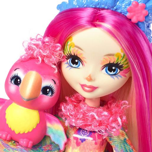 Enchantimals - Muñeca Peeki Parrot