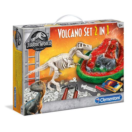 Jurassic World - Arqueojugando T-Rex y Volcán
